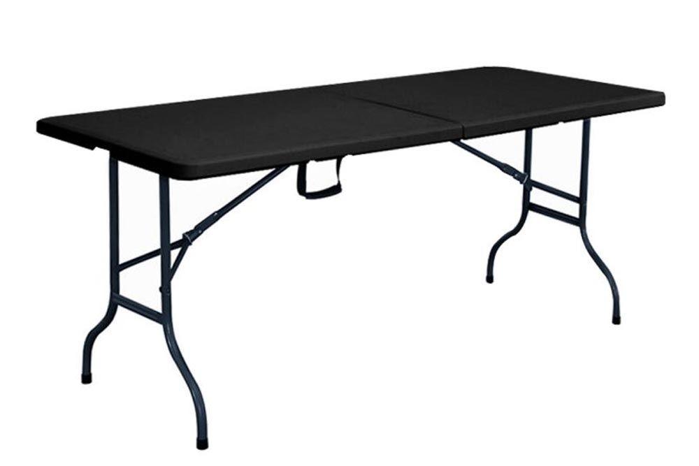 table pliante noire