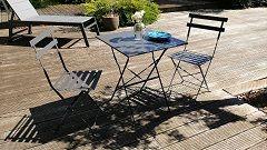 Chaise de terrasse Dieppe Dimensions