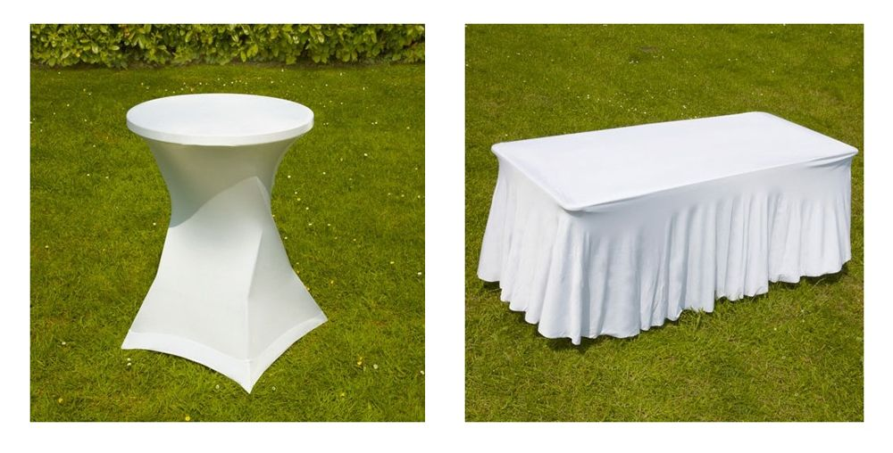 Mobilier de r ception pas cher mobeventpro for Housse exterieur table