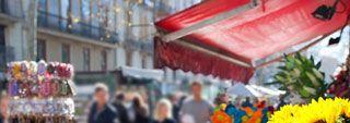 Tentes pour les Marchés et commerçants en extérieur