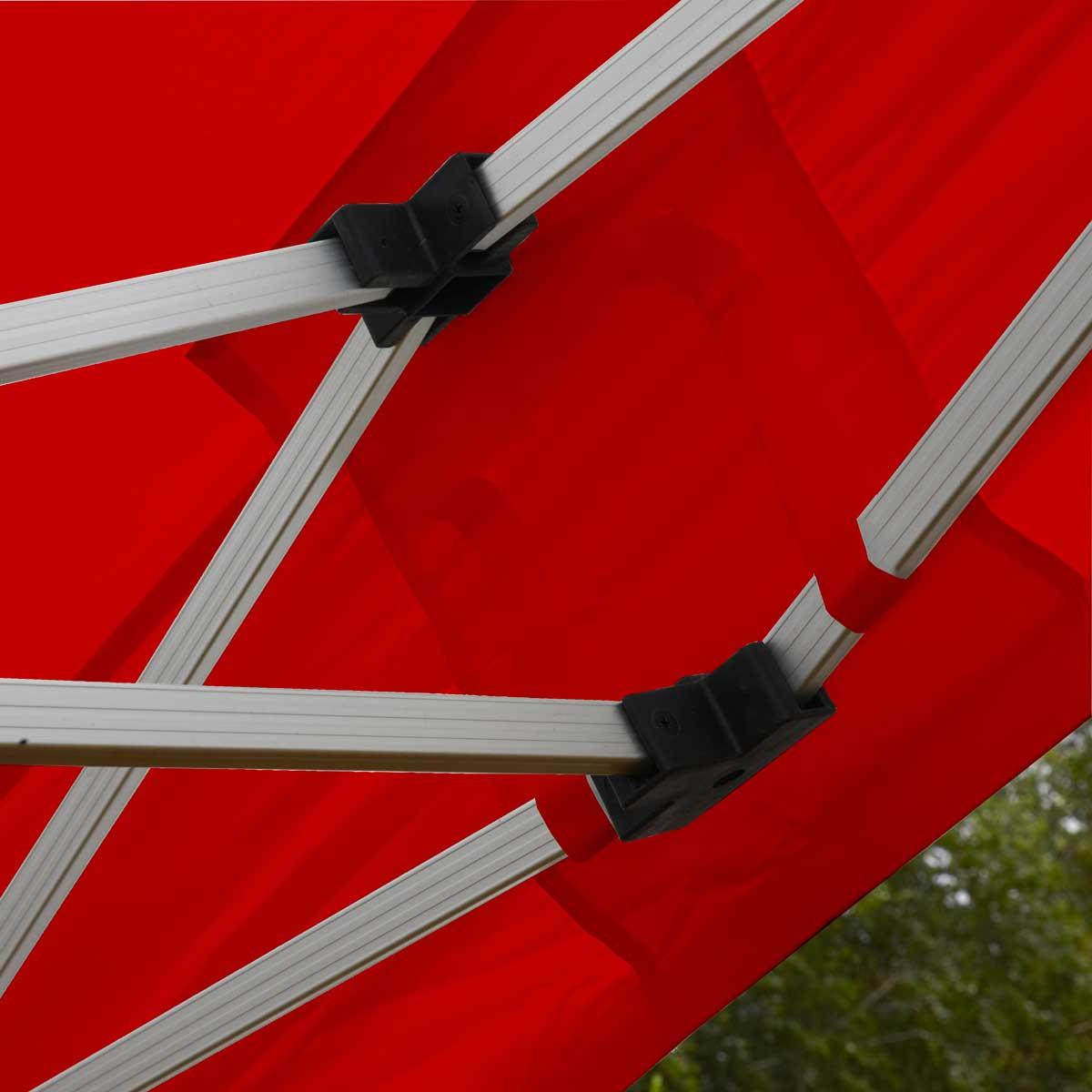 Tente pliante rouge pas cher