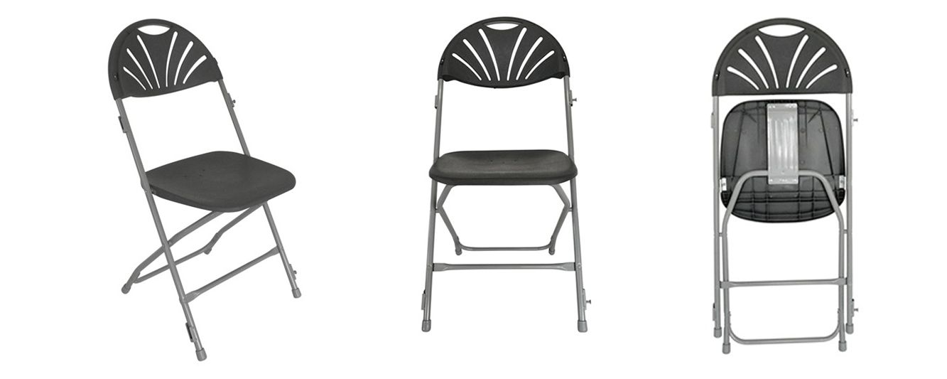 chaise de r union pliante mobeventpro. Black Bedroom Furniture Sets. Home Design Ideas