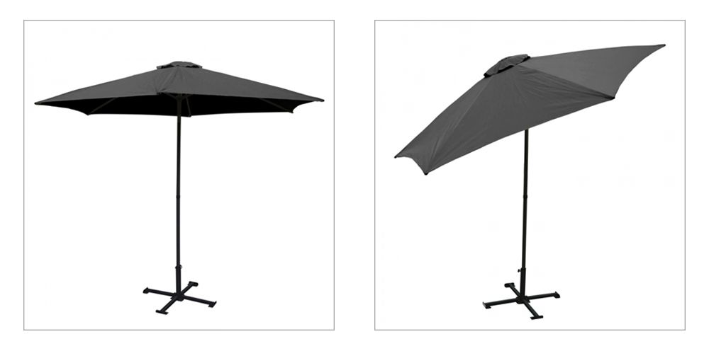 Parasol droit inclinable PRO