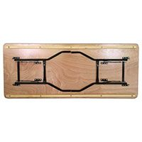 table pliante en bois rectangulaire table brasserie table traiteur