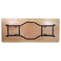 table pliable bois table brasserie table traiteur